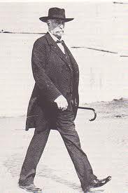 Giovanni Giolitti a passeggio a Roma
