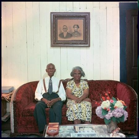 Gordon Parks. Mr. and Mrs. Albert Thornton, Mobile, Alabama, 1956. Image courtesy of Jackson Fine Art, Atlanta and Arnika Dawkins Gallery. © The Gordon Parks Foundation