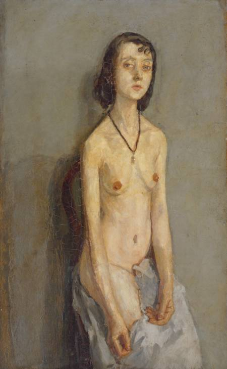 Nude Girl 1909-10 by Gwen John 1876-1939