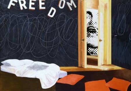 Situationist Apartment May '68 2001 by Dexter Dalwood born 1960