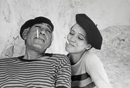 Anthony Quinn & Anna Karina