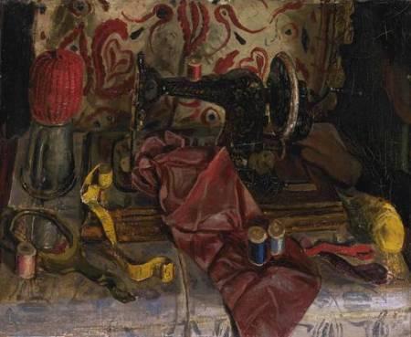 L'Après-midi d'une ouvrière circa 1935 by Carel Weight 1908-1997