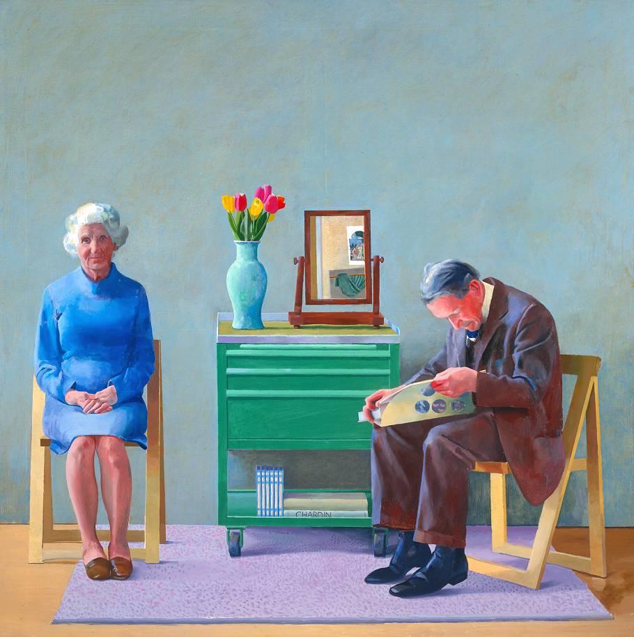 David Hockney Sottoosservazione S Blog