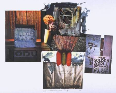 Street Sounds 1992 by Robert Rauschenberg 1925-2008