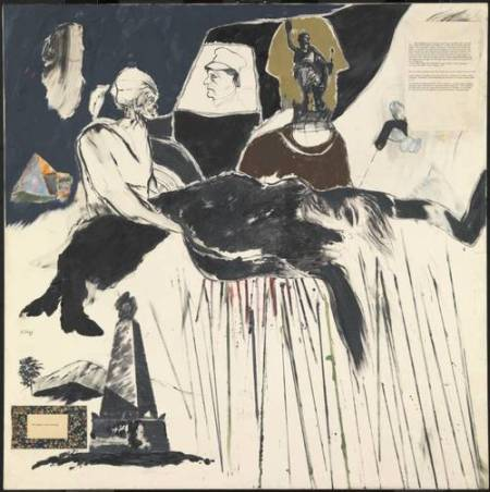 The Murder of Rosa Luxemburg 1960 by R.B. Kitaj 1932-2007