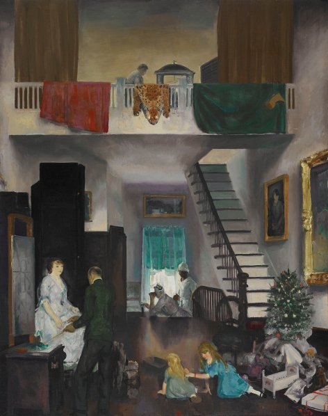 George Wesley Bellows (1882-1925) The Studio 1919 Oil on canvas