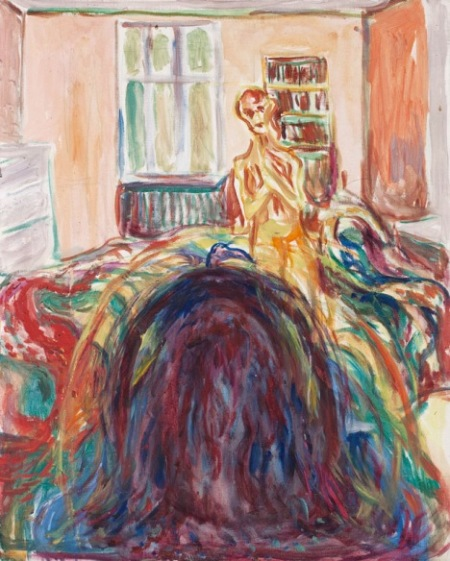 Edvard Munch, Disturbed Vision, 1930, The Munch Museum, Oslo.