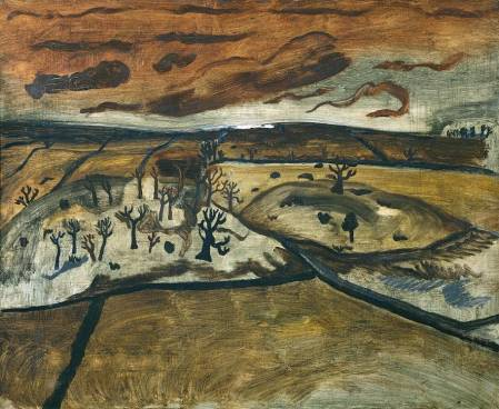 1928 (foothills, Cumberland) 1928 by Ben Nicholson OM 1894-1982
