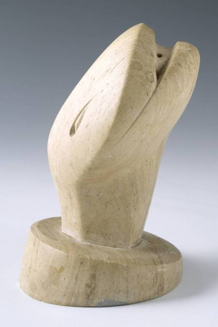 Head of a Serpent 1927 by Henry Moore OM, CH 1898-1986