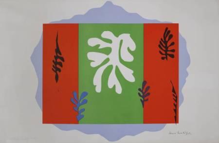 The Dancer 1949 by Henri Matisse 1869-1954