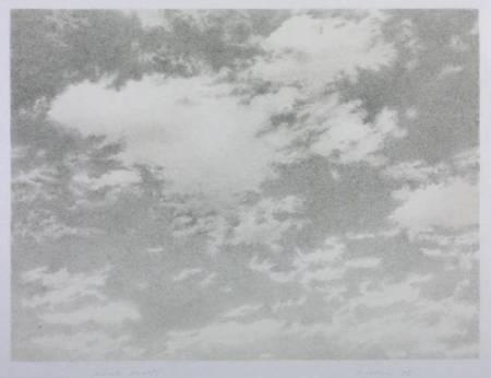Sky 1975 by Vija Celmins born 1938