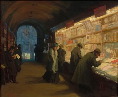 O_1239 Parizske knihkupectvi 1904