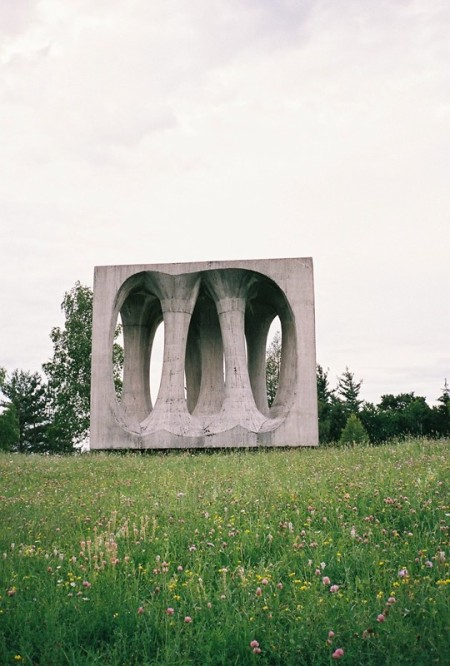 Yugoslavian monument commissioned by Tito