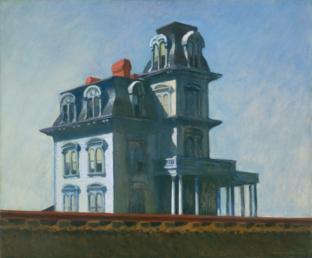 House by the Railroad *oil on canvas *61 x 73,7 cm *signed b.r.: EDWARD HOPPER *1925