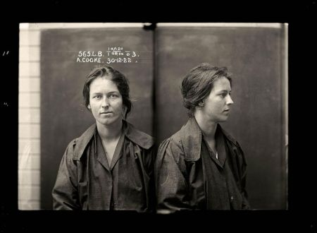Alice Adeline Cooke, convicted of bigamy and theft