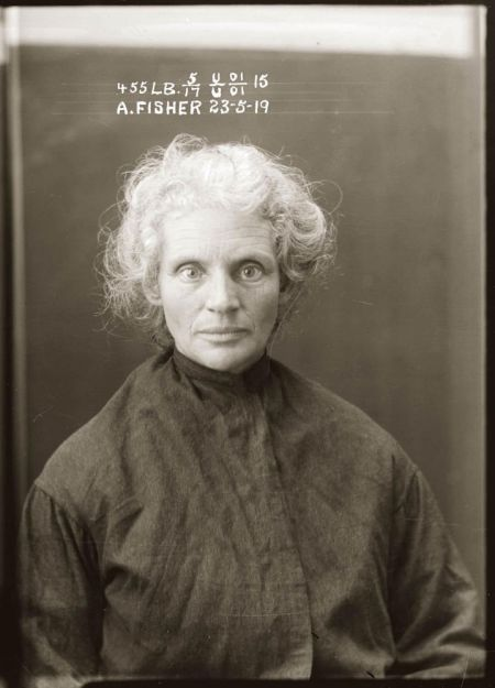 Alice Fisher, larceny