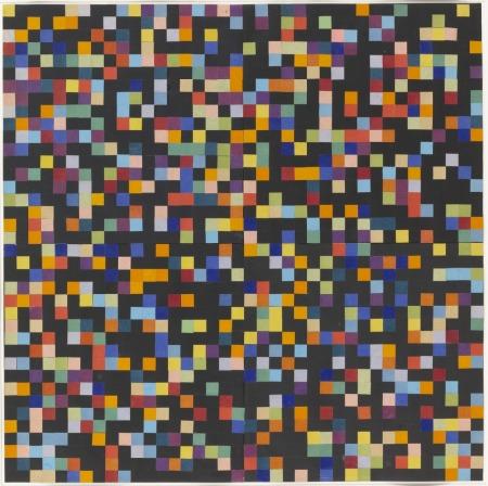 Spectrum Colors Arranged by Chance VI, 1951