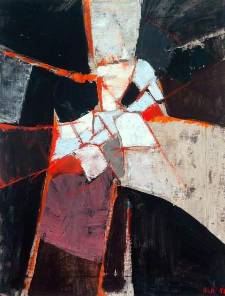 Heath, Adrian; Grey and Black; The Hepworth Wakefield; http://www.artuk.org/artworks/grey-and-black-21517