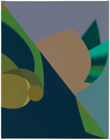 Tomma Abts Works on Canvas
